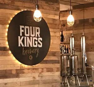 <span>Four Kings Brewery</span><i>→</i>